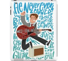Guitar Heroes - Marty McFly  iPad Case/Skin