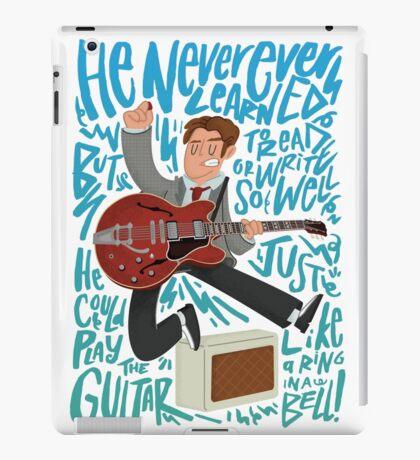 Guitar Heroes - Marty McFly  iPad Case/Skin