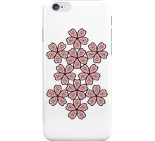 Flower Heart Pattern iPhone Case/Skin