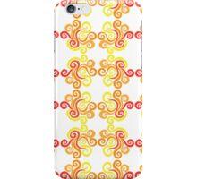 Firery Swirls iPhone Case/Skin