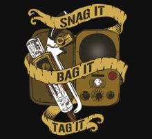 Snag It, Bag It, and Tag It! T-Shirt