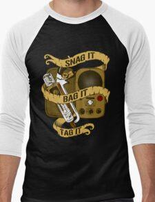 Snag It, Bag It, and Tag It! Men's Baseball ¾ T-Shirt