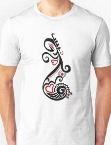 Musical Motif Unisex T-Shirt