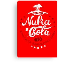 Drink Nuka Cola Canvas Print