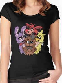 Five Nights at Freddys! Women's Fitted Scoop T-Shirt
