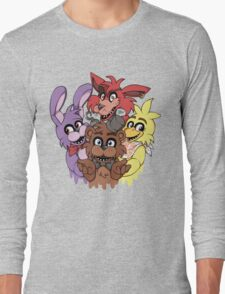 Five Nights at Freddys! Long Sleeve T-Shirt