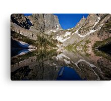 Emerald Mirror Canvas Print