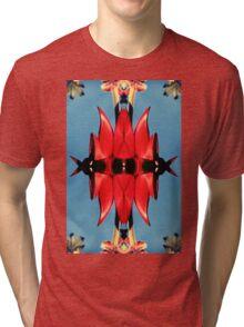 Retro Sturt's Red Pea Tri-blend T-Shirt