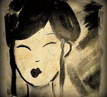 Vintage Style Geisha by smashedbullet