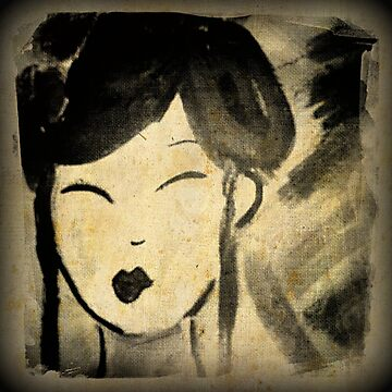 Vintage Style Geisha by smashedbullet