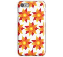 Firery Pinwheel Pattern iPhone Case/Skin