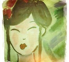 Geisha in Lomo Style by smashedbullet