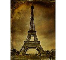 Vintage Paris Photographic Print