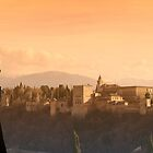 alhambra sunset by shaun965