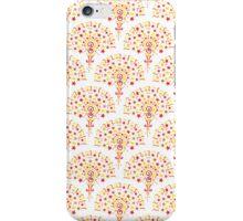 Doodle Fan Pattern iPhone Case/Skin