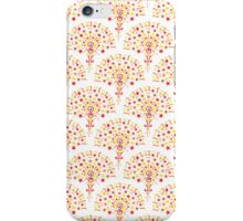 Doodle Fan Pattern iPhone Case/Skin