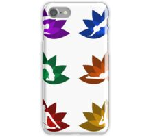 yoga and meditation iPhone Case/Skin