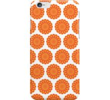Firery Flowers Pattern iPhone Case/Skin