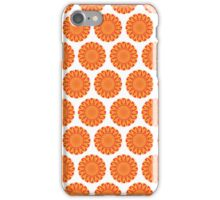 Firery Flowers Pattern iPhone Case/Skin