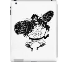 Luffy Gear 4 Attack Formation iPad Case/Skin