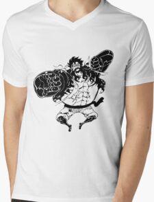 Luffy Gear 4 Attack Formation Mens V-Neck T-Shirt