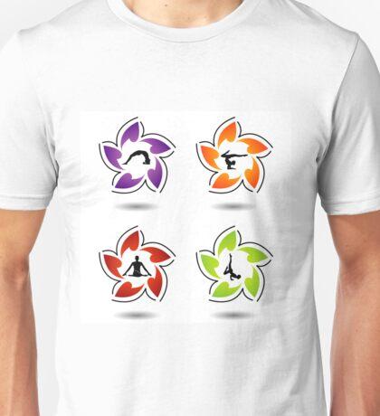 yoga and meditatio Unisex T-Shirt