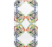 Calligraphic Motif iPhone Case/Skin