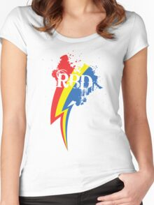 Speedpainting: Legacy Women's Fitted Scoop T-Shirt