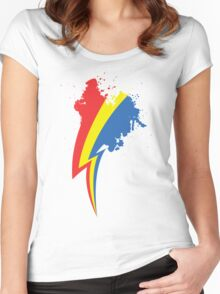 Speedpainting Women's Fitted Scoop T-Shirt