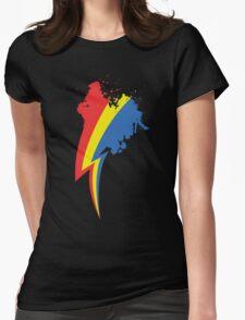 Speedpainting Womens Fitted T-Shirt