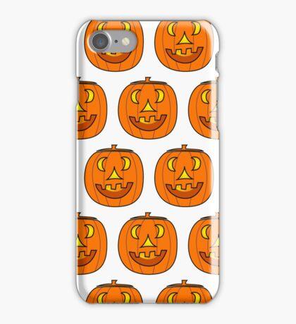 Jack O' Lantern Pattern iPhone Case/Skin