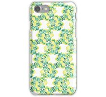 Swirly Emblem Pattern iPhone Case/Skin