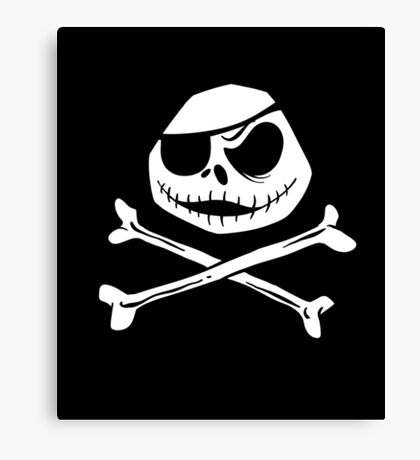 Jolly Jack Roger Canvas Print