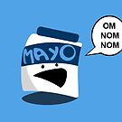 Mayo Jar by jonezajko
