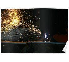 industrial light Poster