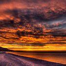 Dramatic Sky over Grand Marais by Megan Noble
