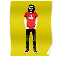 Hipster Che Guevara Poster