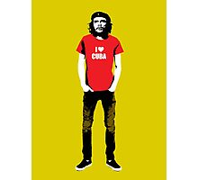 Hipster Che Guevara Photographic Print