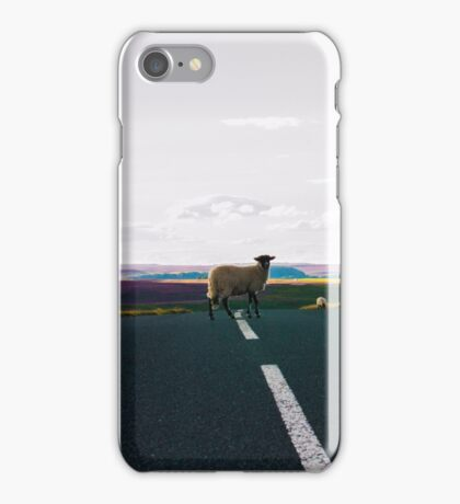 King Of The Road -  Stubborn Sheep iPhone Case/Skin
