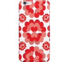 Heart Fan Flower Pattern iPhone Case/Skin