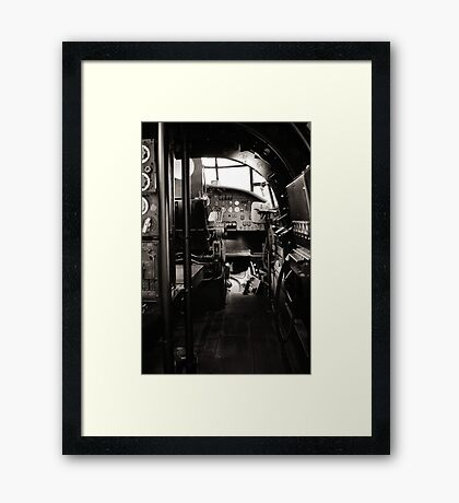 The Lancaster Within (Black and White) Framed Print