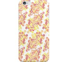 Firery Curlicules iPhone Case/Skin