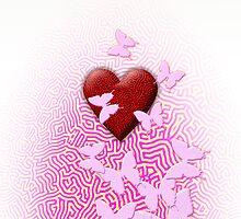 aMazed Heart by Arie van der Wijst