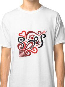Calligraphic Motif Classic T-Shirt