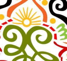 Calligraphic Motif Sticker