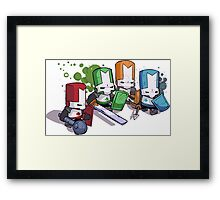 Castle Crashers Framed Print