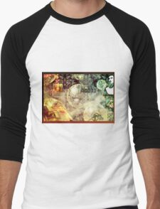 Ghost Transmission Men's Baseball ¾ T-Shirt