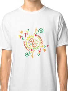Firework Doodle Classic T-Shirt