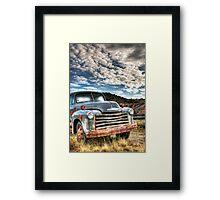 High Miles Framed Print