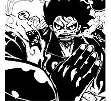 Luffy Gear 4 - Ready To Fight Photographic Print